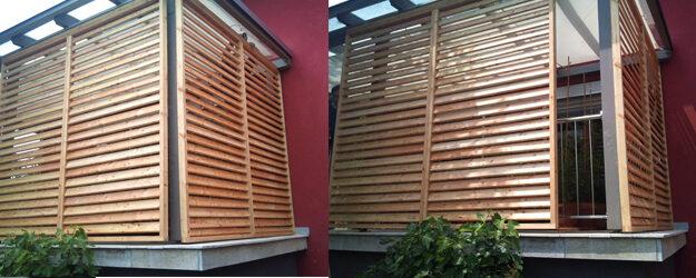 Drsno senčilo kot senčilo terase