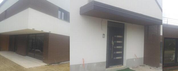 Leskompozit – WPC lesena fasada