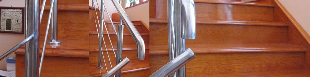 lesene hrastove stopnice lužene