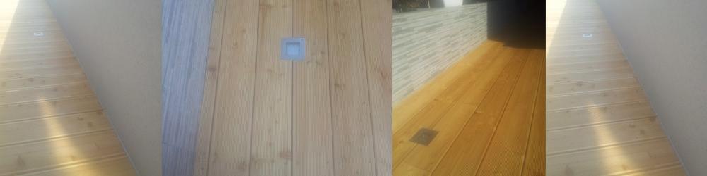 sanacija lesene terase