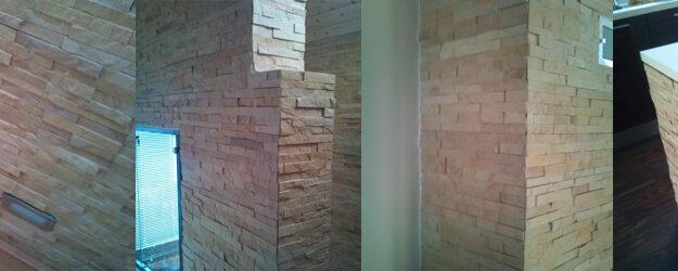 Naravni dekorativni kamen interier – bež barve