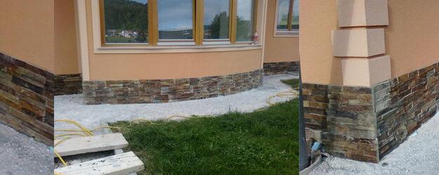 Dekorativni kamen – cokel hiše