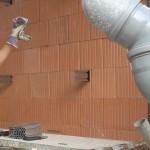 Montaža Zen les sistema lesene fasade z ALU sidri