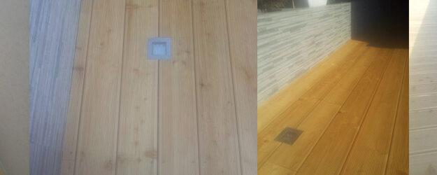 Sanacija lesene terase po nepravilni izbiri lesa in tipa montaže
